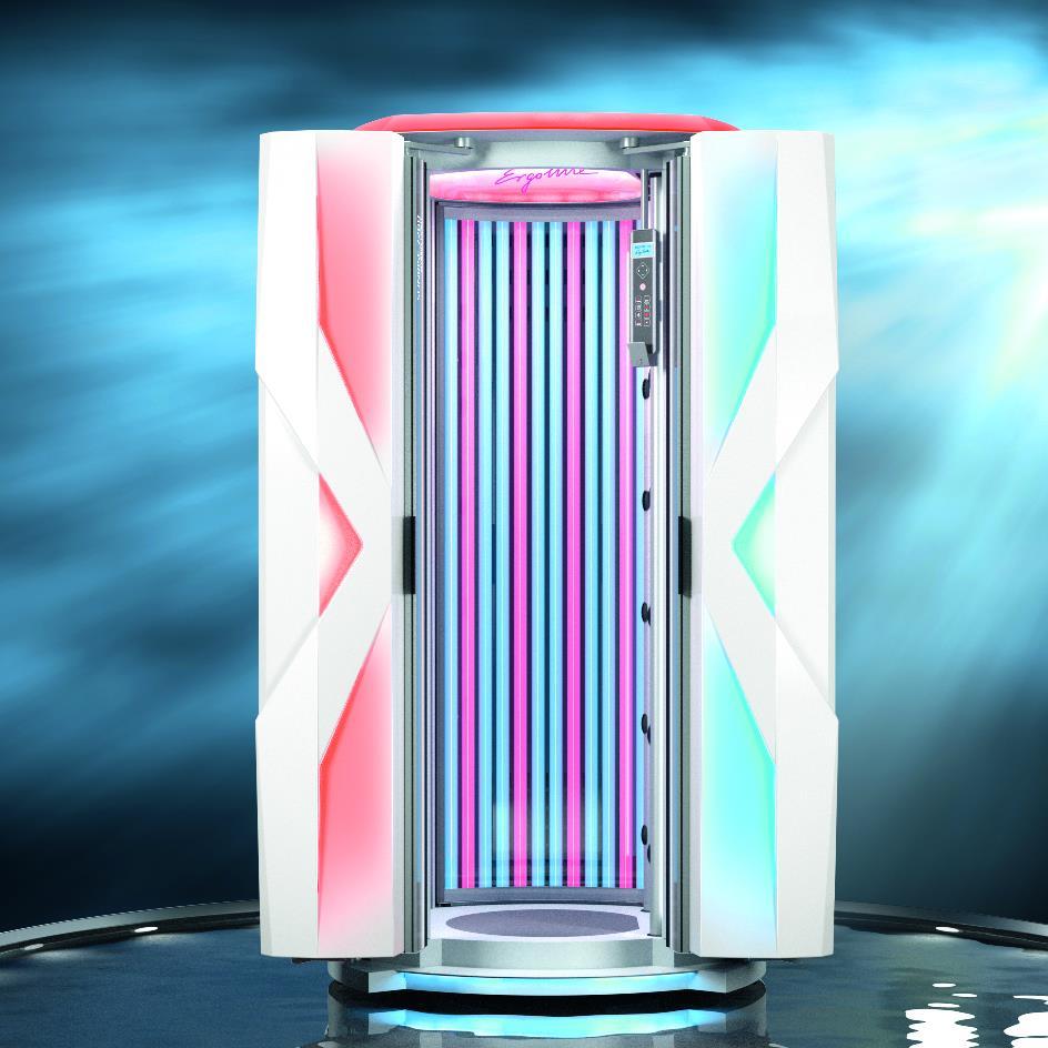 Cabina Doccia Con Lampada Abbronzante.Doccia Solare Sunrise 7200 Hybrid Light